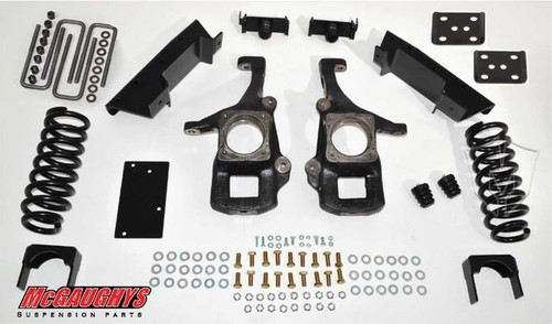 Toyota Tundra Double/Crew Max Cab 2007-2018 4/6 Deluxe Drop Kit - McGaughys Part# 98016