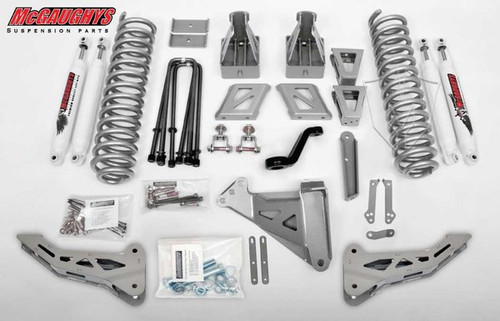 """Ford F-350 4wd 2011-2016 8"""" McGaughys Lift Kit Phase I"""