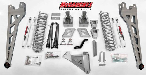 """Ford F-350 4wd 2011-2016 8"""" McGaughys Lift Kit Phase II"""