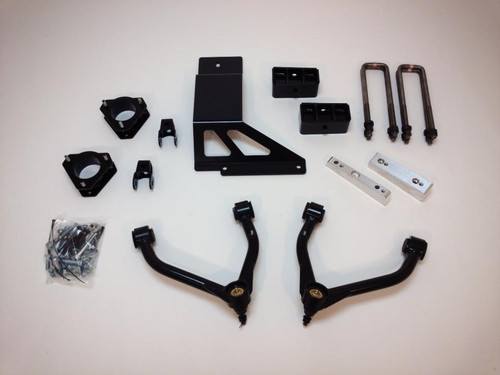 "Chevrolet Silverado 1500 4wd 2007-2013 4"" Lift Kit W/Upper Arms - McGaughys Part# 50759"