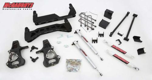 "GMC Sierra 1500 2007-2013 7""-9"" McGaughys Economy Lift Kit"