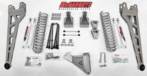 """Ford F250 4wd 2008-2010 8"""" Lift Kit W/Shocks Phase II - McGaughys Part# 57247"""