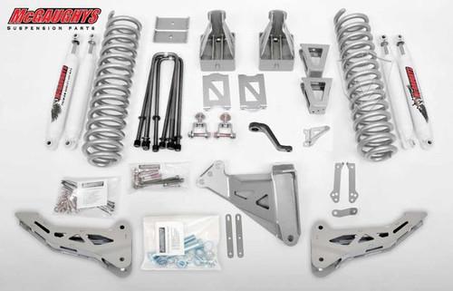 "Ford F350 4wd 2005-2007 8"" Lift Kit W/Shocks Phase I - McGaughys Part# 57336"