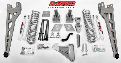 """Ford F-250 4wd 2017-2020 6"""" McGaughys  Lift Kit Phase II"""