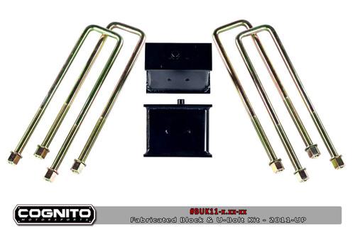 Chevrolet Silverado / GMC Sierra 1500 4wd 2500HD 2011-2019 Block & U Bolt Kit