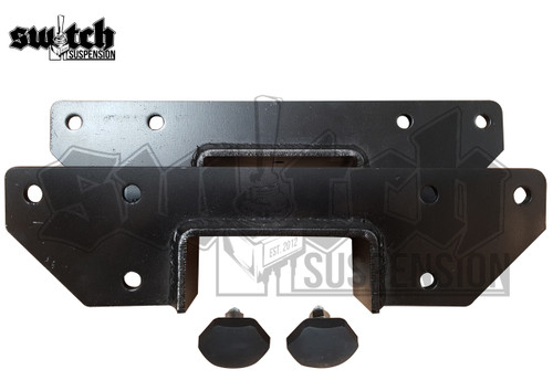 GM C-20 C-30 Pickup 1973-1991 Rear C Notch Frame Section C-Notch w/ Hardware