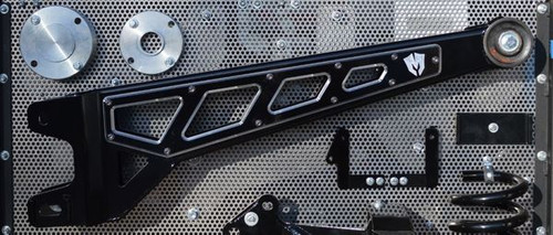 """Ford F-250 4wd 2017-2020 8"""" McGaughys  Lift Kit Premium Black Stainless Phase II"""
