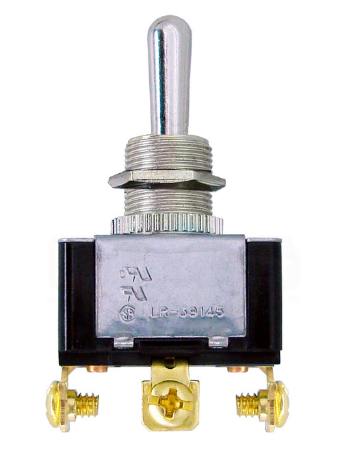 2 Position Toggle Switch; 3 Prong