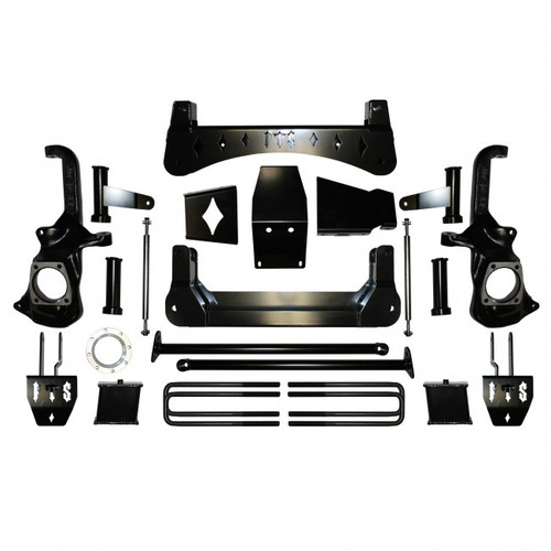 "GMC Sierra 3500HD 2020 Full Throttle 7-9"" Lift Kit"