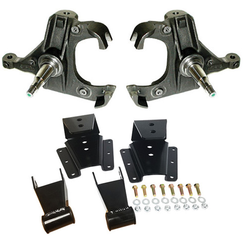 Chevrolet C-20/C-30 1973-1991 Deluxe 3/4 Drop Kit