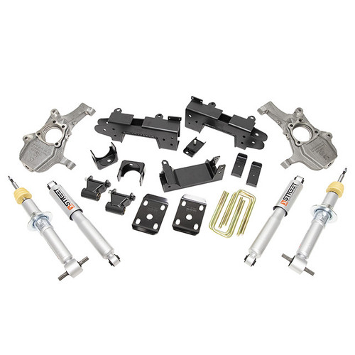 "Chevrolet Silverado 1500 2019-2021 2-4"" / 6"" Belltech Lowering Kit"