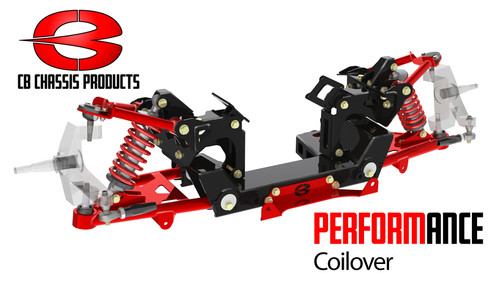 Chevrolet C-10 1973-1987 Choppin Block Performance Series Coilover Front Crossmember Kit
