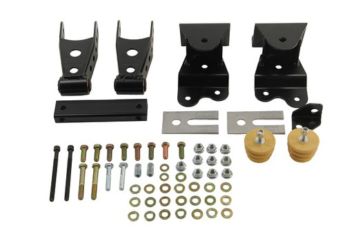 "Chevrolet C1500 Silverado 1988-1998 Ext Cab Belltech 4"" Rear Shackle and Hanger Kit"