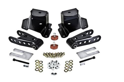 "Chevrolet Silverado 1500 1999-2006 Std Cab Short Bed Belltech 3"" Rear Shackle and Hanger Kit"