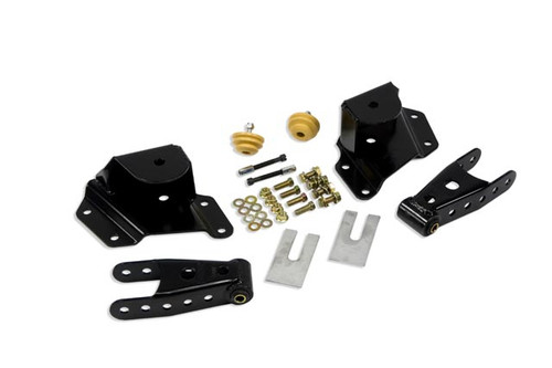 "Chevrolet Silverado 1500 1999-2006 Std Cab Short Bed Belltech 4"" Rear Shackle and Hanger Kit"