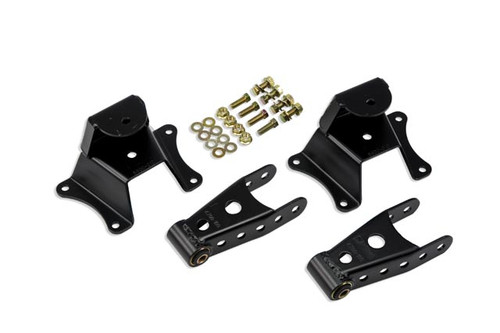 """GMC C-10 2wd 1973-1987 Belltech 4"""" Rear Shackle and Hanger Kit"""