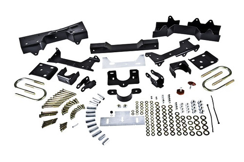 "Chevrolet Silverado 1500 1999-2000 2wd Ext Cab Short Bed Belltech Rear 6"" Drop Axle Flip Kit"