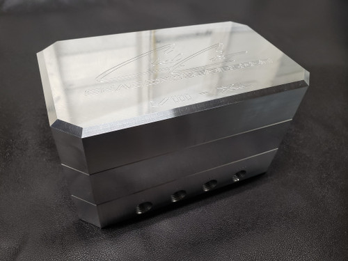 Chad Criss Designs 8XL 4-Corner Billet Manifold Valve