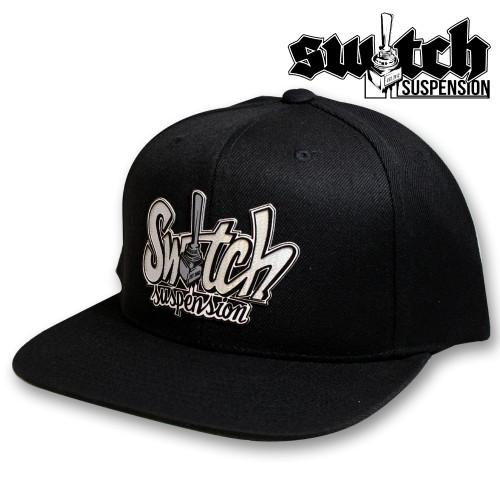 Switch Graffiti Black Wool Snap Back Hat