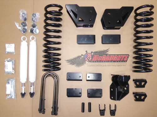 "Dodge Ram 3500 4wd 2019-2020 4"" Basic Mcgaughys Lift Kit (Leaf Spring Rear)"