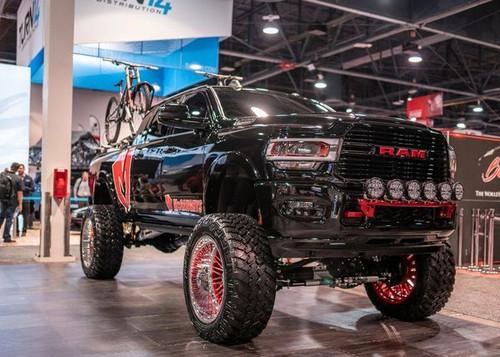 "Dodge Ram 2500 4wd 2019-2020 10"" Mcgaughys Lift Kit Radius Arm Kit (Coil Spring Rear)"