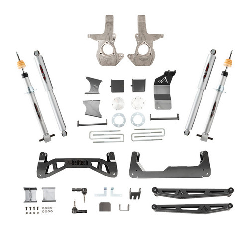 "Chevrolet Silverado 1500 2014-2018 4wd Belltech 7-9"" Lift Kit"