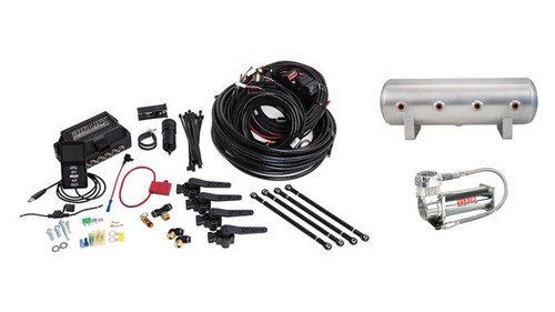 AIR LIFT 3H AIR MANAGEMENT (3/8″ AIR LINE, 2.5 GALLON TANK, VIAIR 444C COMPRESSOR)