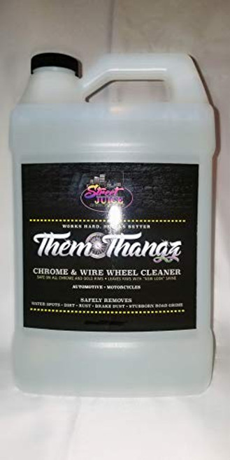 Them Thangz 1 Gallon Chrome & Wire Wheel Cleaner