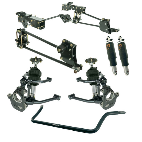 GMC Sierra 1500 2007-2013 Ridetech Complete Air Suspension Kit