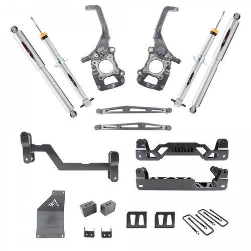 """Ford F-150 2015-2020 Short bed 4WD Belltech Trail Performance 6-7"""" Lift Kit"""