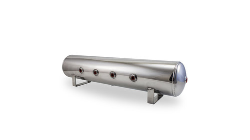 Air Lift 4 Gallon Polished Aluminum Air Tank