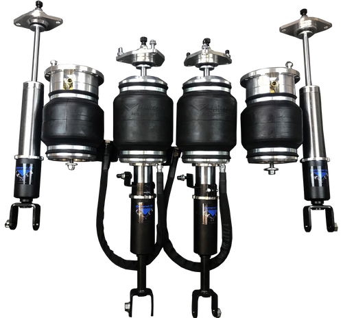 Fiat 500 2012-2017 Solution Series Complete Air Suspension Kit