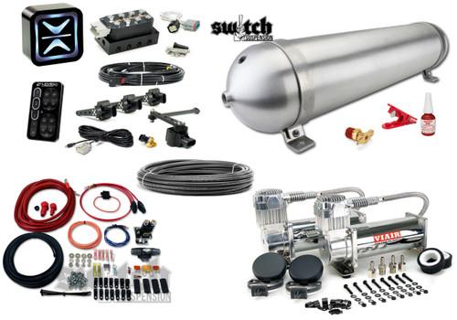 Accuair e-Level+, Seamless tank and Viair 444 Air Management Kit