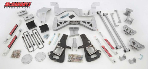 "Chevrolet Silverado 3500HD 2002-2010 7-9"" McGaughys Lift Kit"