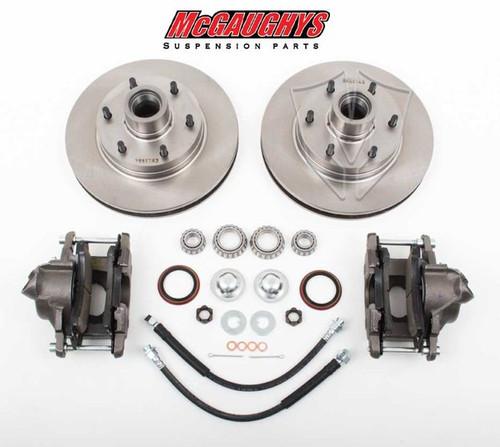 "GMC C-10 1960-1987 12"" Front Disc Brake Kit; 6x5.5 Bolt Pattern - McGaughys Part# 63157"