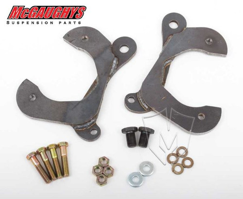 Chevrolet Fullsize Car 1955-1958 Front Disc Brake Conversion Brackets; Stock Spindles - McGaughys Part# 63200