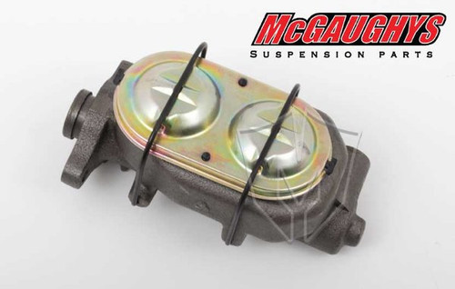 """Oldsmobile F-85 1964-1972 Non-Power 1"""" Bore Master Cylinder; Dual Resovoir - McGaughys Part# 63203"""