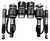 Mini Cooper MK1 R50 / R53 2002-2006 Solution Series Complete Air Suspension Kit