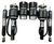 Ford Mustang 2005-2014 Solution Series Complete Air Suspension Kit