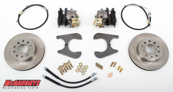 "Chevrolet Fullsize Car 1955-1964 11"" Rear Disc Brake Kit; 5x4.75 Bolt Pattern - McGaughys Part# 64095"