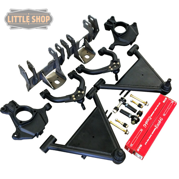 Chevrolet Silverado 1500 2wd 2007-2018 Little Shop Front Air Suspension System