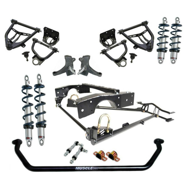 Chevrolet C-10 1963-1970 Complete CoilOver System - Ridetech Part# 11340201