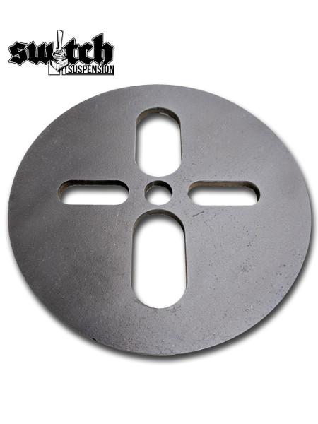 "Upper Air Bag Circle Plate 6"""