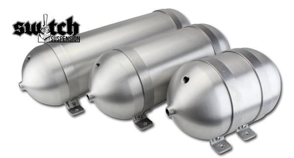 """Seamless Tanks 6"""" Spun Aluminum Air Tank"""