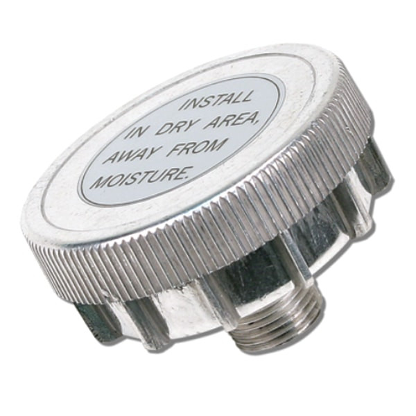 Direct Inlet Air Filter Assembly Silver Metal