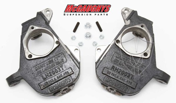 "Chevrolet Suburban 2001-2006 Front 2"" Drop Spindles - McGaughys Part# 33002/33004"