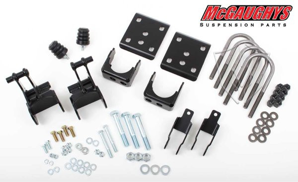 """Ford F-150 2wd 2004-2008 Rear 4"""" Drop Kit - McGaughys Part# 70007"""