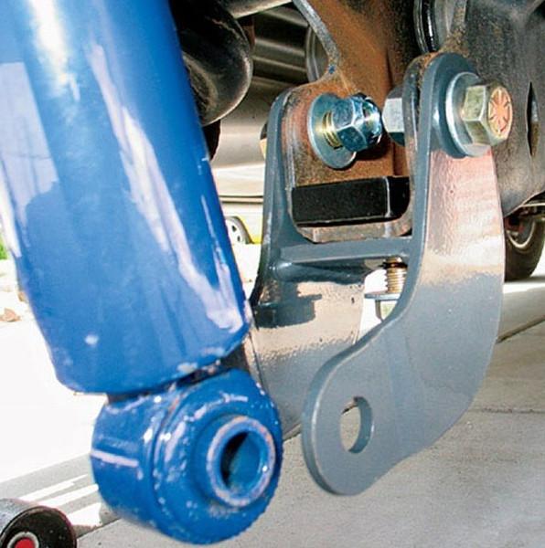 Dodge Ram 1500 2002-2008 Rear Shock Extenders - McGaughys Part# 44000