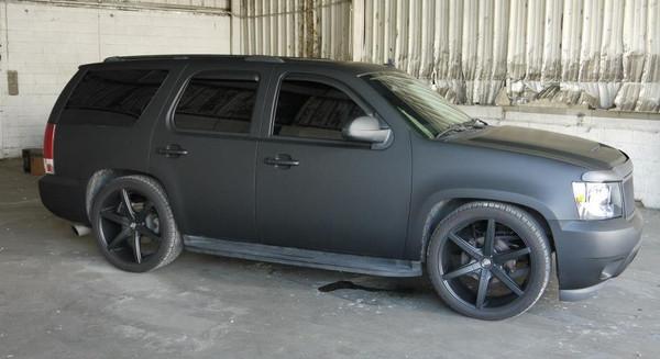 2007 Tahoe - 4/5 McGaughys Deluxe Drop Kit, 24x9 Lexani Wheels, 295/35R24 Tires