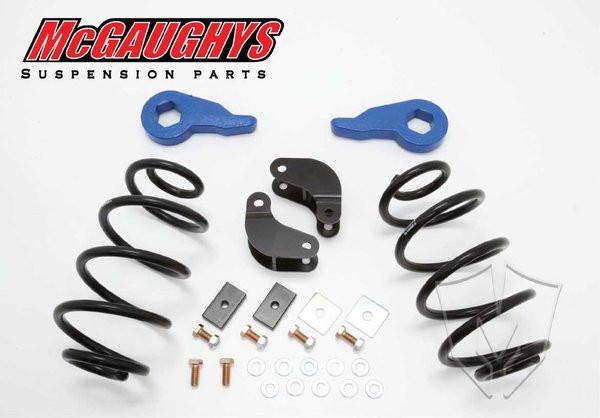 Chevrolet Avalanche HD Shocks 2001-2006 2/3 Economy Drop Kit - McGaughys Part# 33048